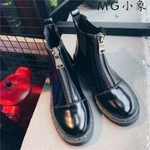 馬丁鞋-馬丁靴英倫風百搭短靴尖頭鞋西靴