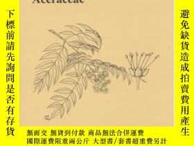 二手書博民逛書店A罕見Survey Of Foliar Flavonoids In The Aceraceae (memoirs
