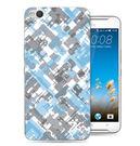 ♥ 俏魔女美人館 ♥HTC One X9 {藍灰*水晶硬殼} 手機殼 手機套 保護殼