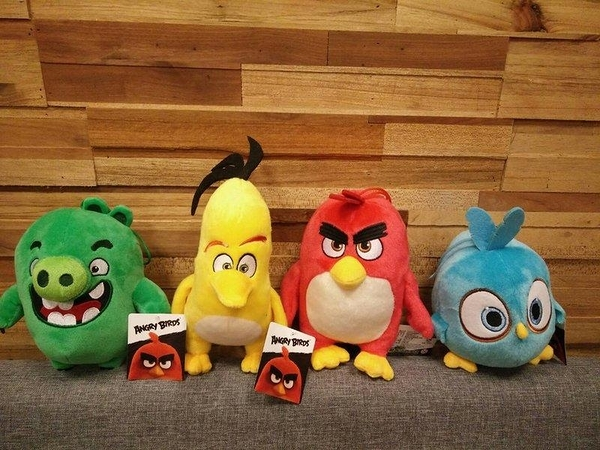 【夏特賣】《憤怒鳥 ANGRY BIRDS》正版授權【吊飾】娃娃裝飾品 憤怒鳥玩電影