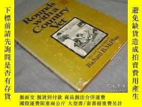 二手書博民逛書店Rounds罕見with a Country Vet-和一個鄉村獸醫Y361738 Richard B. Mc