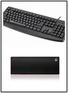 雷柏Rapoo USB有線鍵盤NK2500+B.FRIEND PAD XXL 超長型 防水 滑鼠墊大