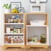 碗櫃簡易櫥櫃家用多功能廚房櫃經濟型餐邊櫃現代簡約茶水櫃仿實木  ATF  魔法鞋櫃