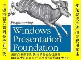 二手書博民逛書店Programming罕見Windows Presentation Foundation (programming