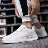 小白鞋男鞋子2019新款韓版潮流百搭白色板鞋男士休閒鞋學生運動鞋
