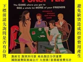 二手書博民逛書店Strip罕見Poker Kit19139 John Vorha