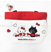 【KP】Hello Kitty x Nya 聯名 萬用袋 手提袋 三麗鷗 收納袋 雙層 正版授權 47145815519