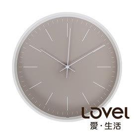 時鐘 Lovel 30cm Anderson's Palette靜音機芯掛鐘-棕(T721–BR)里和 Riho