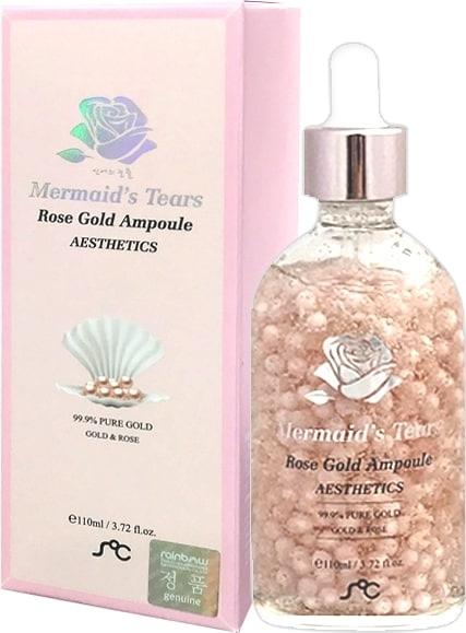 美人魚眼淚 純淨玫瑰黃金安瓶 110ML Mermaid's Tears