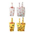 【本之豐】7176 飲料杯 魔術 碎花提袋 環保袋 碎花/黃車 台灣製造