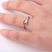小蛇s925純銀戒指女士簡約個性活口單戒原創小眾設計禮物 伊衫風尚