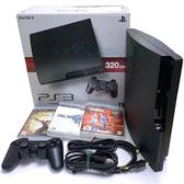 【PS3主機】 機況良好3007B 320G 木炭黑色 薄型吸入式+戰神崛起+初音痛貼 【中古二手】台中星光