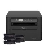 【搭CRG-047相容碳粉匣五支】Canon imageCLASS MF113w 無線黑白雷射複合機