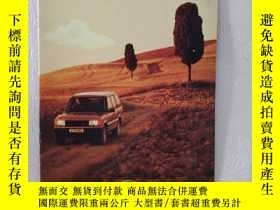 二手書博民逛書店1994年LAND罕見ROVER 路虎 汽車 RANGE ROV
