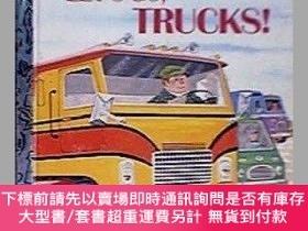 二手書博民逛書店Lets罕見Go Trucks!-我們去卡車!Y414958 David L Harrison ... IS