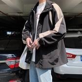 外套男 秋季港風夾克潮男寬鬆復古工裝服潮牌上衣日系原宿風ins古著外套