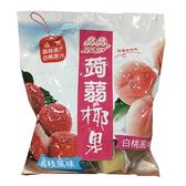 晶晶蒟蒻椰果白桃荔枝風味凍900g【愛買】