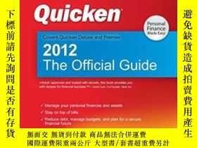 二手書博民逛書店Quicken罕見2012 The Official Guide
