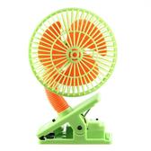 LUCKY BABY 可夾式驅蚊電風扇/防蚊/安全風扇/風扇-綠色