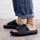 男士拖鞋夏天增高厚底網紅46踩屎感2021年新款涼拖鞋男外穿 韓國時尚週
