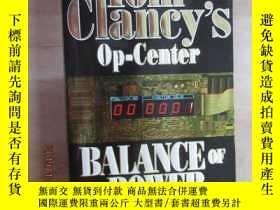 二手書博民逛書店外文書罕見Tom Clancy s op-Center BALA