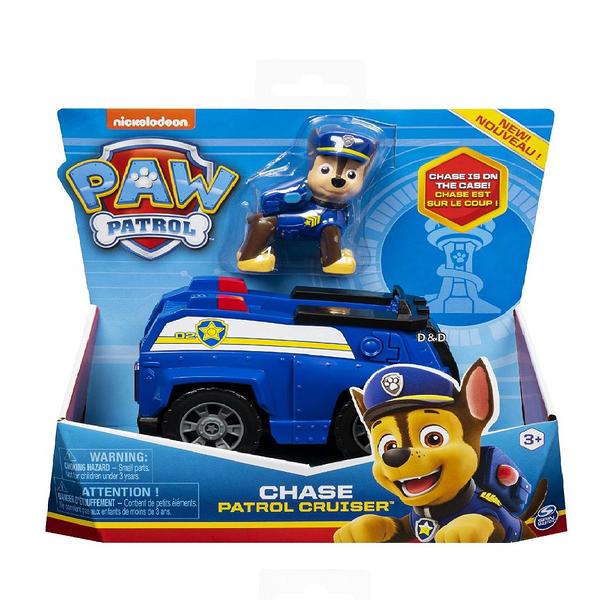 《 汪汪隊立大功 paw patrol 》基本車輛4 - 阿奇 (藍)╭★ JOYBUS玩具百貨