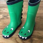 全館85折 兒童雨鞋小恐龍男童寶寶女童小童雨靴小孩幼兒園水鞋防滑膠鞋套鞋 百搭潮品