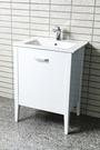 【台灣吉田】LOP-660 60cm 發泡仿古式浴櫃 浴櫃組