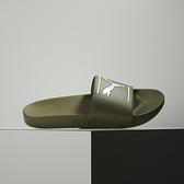 Puma Leadcat FTR Comfort 軍綠 運動 休閒 拖鞋 380673-03