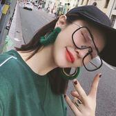 眼鏡透明平光鏡防輻射男女韓版潮大框眼鏡