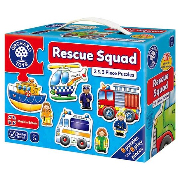 【英國 Orchard Toys】遊戲拼圖-救援小英雄 OT-204