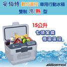 安伯特 數位溫控 行動式冷熱兩用迷你車用冰箱/保溫箱/保冷箱-攜帶型(ABT-114)【DouMyGo汽車百貨】