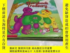 二手書博民逛書店Barney s罕見Storybook Treasury巴尼的故事书财政部(精装本)Y9212 出版19