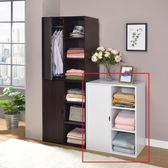 ONE HOUSE傢俱-DIY-三格一門戀情機能衣櫥/衣櫃/收納櫃