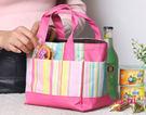 wei-ni 炫彩手提拉鍊便當袋 旅行防潑水包 韓風收納袋 旅行收納袋 萬用收納包 旅行包 保護袋