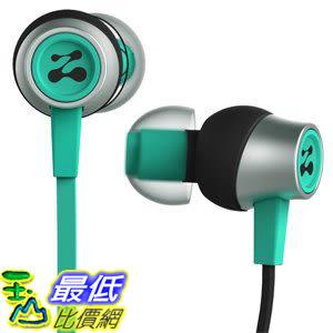 [106美國直購] 耳機 Zipbuds SLIDE Sport Earbuds with Mic (Most Durable Tangle-Free Workout In-Ear Headphones)