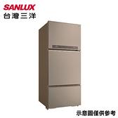 【SANLUX台灣三洋】580公升變頻三門冰箱SR-C580CV1A