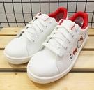 【震撼精品百貨】Hello Kitty 凱蒂貓~台灣製正版成人布鞋/休閒鞋-白紅(23~25號)#20971
