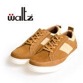 Waltz-磨砂皮舒適休閒板鞋622104-06(棕)