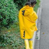 館長推薦☛四季兒童雨披男女童幼兒園寶寶小孩小童可愛加厚防風恐龍雨衣