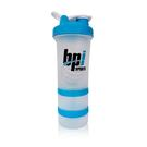 BPI SPORTS 健身運動專用三層搖搖杯 附鋼球 450ml
