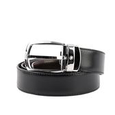 【MONT BLANC】雙面可調尺寸商務皮帶(黑色/棕色) 112960