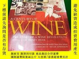 二手書博民逛書店A罕見CENTURY OF WINE STEPHEN BROOK