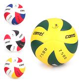 CONTI 5號日本頂級超級細纖纖維貼布排球(免運≡排汗專家≡