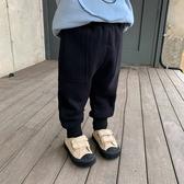 男童加絨褲子一體絨兒童休閒褲薄絨秋冬2020新款寶寶冬裝小童長褲