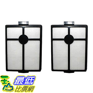 [106美國直購] 2 Washable & Reusable HEPA Filters Fit Rainbow E-Series & E2-Series Vacuums R7292, R12107B
