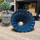 【沐湛咖啡】日本製 美濃燒 百摺濾杯 摺紙濾杯 KOYO 藍色款 1-2人份 錐型濾杯 百褶裙濾杯