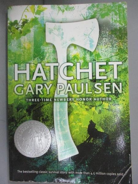 【書寶二手書T6/原文小說_GHX】Hatchet_Paulsen, Gary