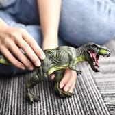 動物模型 侏羅紀仿真恐龍模型玩具大號霸王龍暴龍三角龍仿真動物套裝