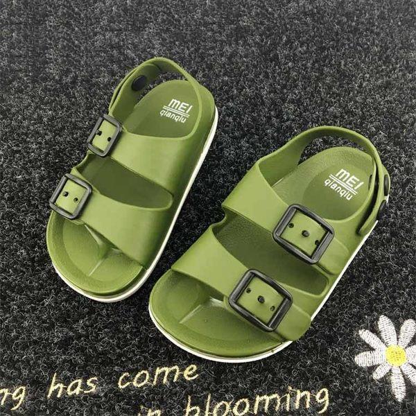 夏季男童鞋英倫1-4歲寶寶童涼鞋兒童防滑涼鞋2018小童塑料沙灘鞋 免運直出 聖誕交換禮物
